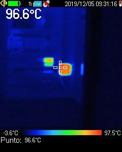 Termografia e misure elettriche