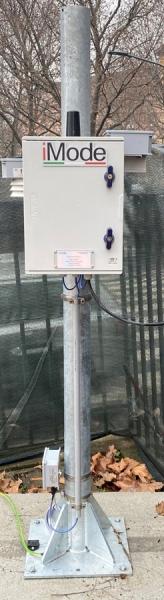Monitoraggio parametri ambientali